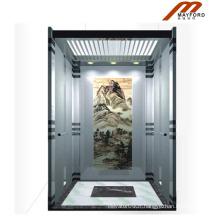 Ascenseur de villa sans chambre de haute qualité de machine avec le plancher de PVC