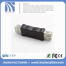 USB 2.0 Typ A weiblich um einen weiblichen Geschlechtwechsler Adapter Converter zu geben