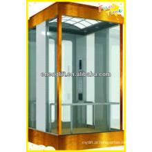 Elevador panorâmico de alta qualidade com máquina sem sala