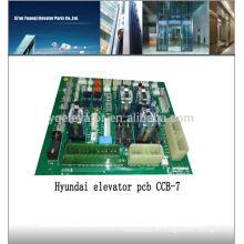 Hyundai elevador tablero de circuitos CCB-7 elevador panel para la venta