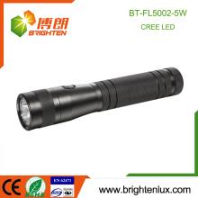 Vente en vrac en usine Matériau en aluminium 2D Batterie sèche à la chasse Puissance Puissante XPG 5W Cree Best led Flashlight Torch