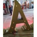 Lettres en plastique acryliques 3D de magasin de détail de bâtiment