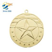 Maratona customizável do preço de fábrica do projeto livre Nenhuma ordem mínima Dois-Sided Medalhas do esporte do metal do prêmio