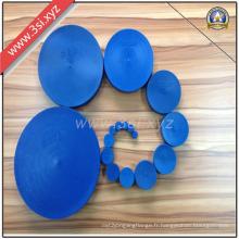 Fabricant de bouchons en plastique de 19mm pour le grand tuyau d'acier (YZF-H84)