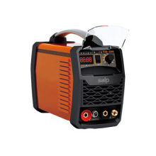 Compact and Portable 200A IGBT Chip DC TIG/MMA Welder Machine, Latest Plastic Panel Design