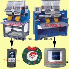 Novo preço da máquina de bordar computadorizado para bordados cap / shoes / t-shirt com boa qualidade