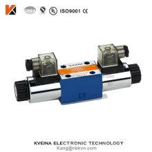 4we6 Válvula de control hidráulico direccional con voltaje 12VDC 24VDC 110VAC 220VAC Rexroth Ng6