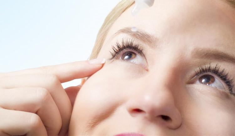 HA eye drops powder