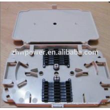 Material ABS 24 Cores Bandeja de empalme de fibra óptica para soluciones de productos de telecomunicaciones
