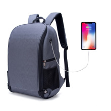 SHBC wholesale fashion black business 9.6/15.6 inch computer laptop bag laptop backpack wtwrproof/shockproof with usb charging