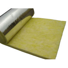 Thermal Insulation Yellow Glass Wool Blanket With Aluminum Foil