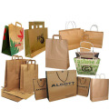 2016 Factory Sale Promotion Paper Grocery Bags With Handles