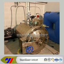 Steam Water Spray Sterilizer Autoclave Retort para frascos de vidrio