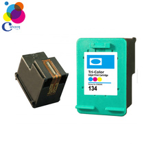 Compatible for hp refill ink cartridge 135 for hp ink cartridge for 5740 6540 6840 7410 printer China factory