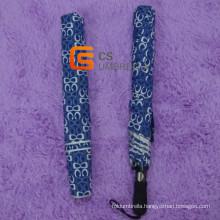 Print Cloth Fabric Big Windproof Golf Umbrella for Men (YS-G1009A)