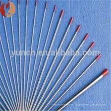 99.95% varilla de tungsteno para la venta / fabricante de barras de tungsteno / precio de la barra redonda de tungsteno de alta pureza