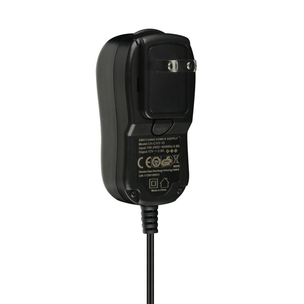 Wall Adapter with Convertible Plugs