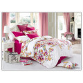 133*72 luxury pattern soft high quality reactive cotton printed wholesale king size comforter sets