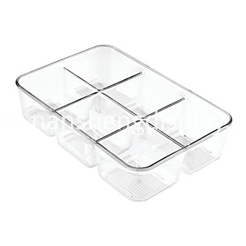 Acrylic Storage with Compartments