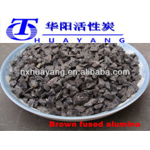 HY brown fused alumina grains (BFA) apply to the abrasive high-tensil strength high metal