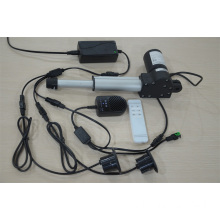 Electric linear actuator motor for electric leisure chair
