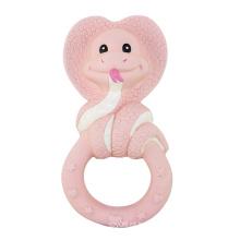 Serpente animal em forma de borracha brinquedos Teethers