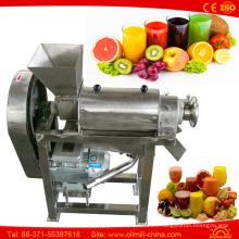 Zanahoria naranja manzana piña jengibre cebolla jugo máquina de jugo de coco