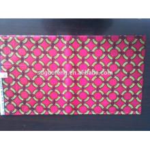 100% algodão 2014 novo design africano estampas de cera tecido