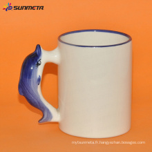 Sublimation tasse blanche animale dolphin