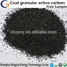 Carvão ativado com base em carvão com base de carvão ativado na China e com alto teor de iodo para venda