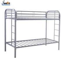 Bedroom adult double deck bed metal bed frame