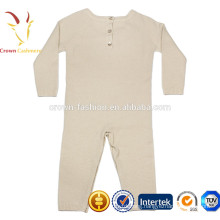 Baby knitted Cashmere Wool Romper