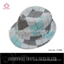El verano coreano de la manera adorna sombreros de Fedora