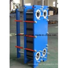 Intercambiador de calor de placas para refrigeración por agua (igual a M6B / M6M)
