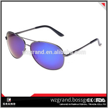 High Quality Metal custom aviator sunglasses Fashion Polarized Sun Glasses For Man