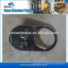 Botón de elevador, placa de metal para el interruptor NVBN590