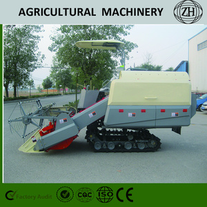 Low Failure Rate Crawler Type Combine Wheat Harvester