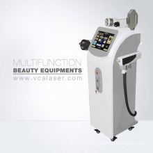 Ultrasonic Cavitation+rf+ipl+elight+laser For Hair Tattoo Removal Weight Loss Multifunctional Machine