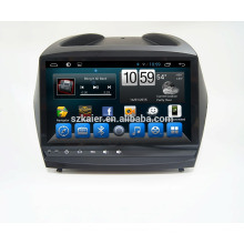 9'' factory directly Quad core android for car dvd player,GPS,OBD,SWC,wifi/3g/4g,BT,mirror link forHYUNDAI 2010 IX35