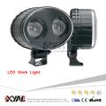 10W 10-80V 6000K Super Bright Waterproof 4x4 Leds Safety LED Work Light