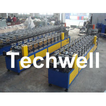 0.4 - 1.0mm Thickness 0 - 15m/min Speed C Stud Roll Forming Machine For Light Steel Keel