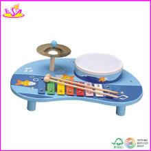 2014 nouveau jouet en bois musique, populaire en bois musique jouet, vente chaude en bois jouet musique w07a055