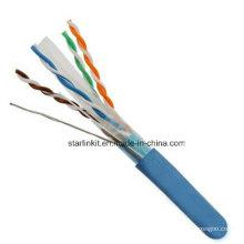FTP CAT6 LSZH Kabel Fluke getestet Soild Bare Kupfer blau
