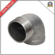 ASTM 304 Ss 90 Degree NPT Threaded Male Elbow (YZF-L188)
