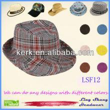 LSF12, 2014 Chapéu barato do fedora do vintage do cowboy da forma quente da venda