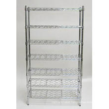 Cheap Price DIY Chrome Metal Whisky Wine Display Rack Shelf Manufacturer