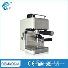Máquina de café expresso italiana elétrica doméstica de aço inoxidável