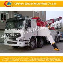 HOWO 8*4 Heavy Duty Road Wrecker Truck