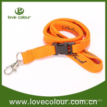 Orange Breakaway Buckle Lanyard/Tubular Lanyard