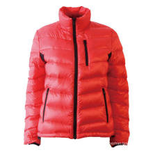 Red Soft Down Jacket